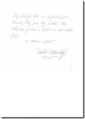 ministr vzkaz